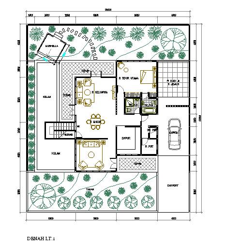Desain Rumah Modern Di Lahan  M Kilausuryas Blog