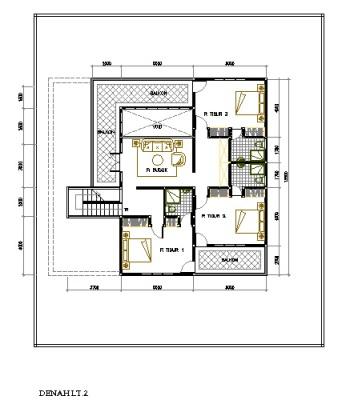 fery musyafir desain rumah modern di lahan 20 x 23 m2