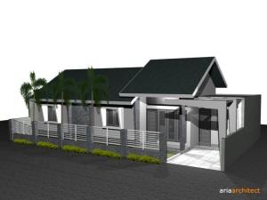 Desain Rumah 15 x 10 meter