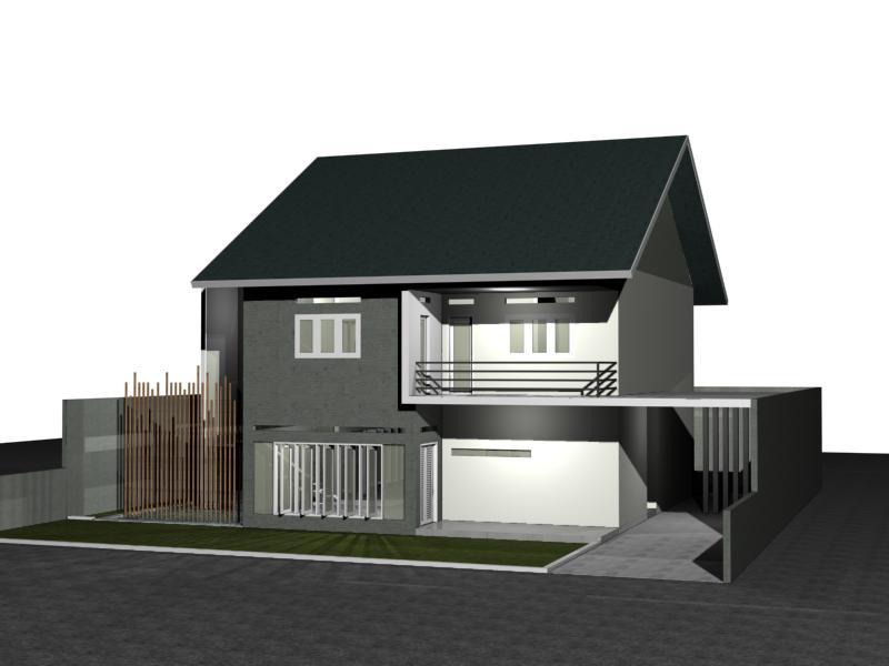 desain rumah modern di lahan 20 x 23 m2 kilausurya 39 s blog